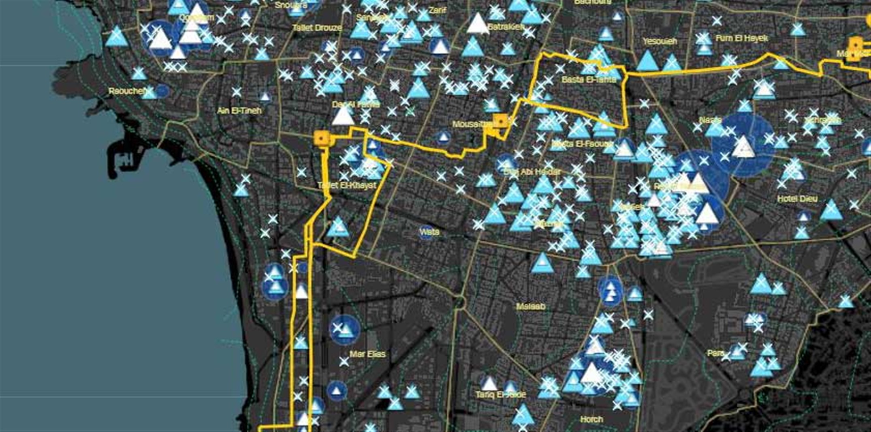 Beirut Built Environment Database