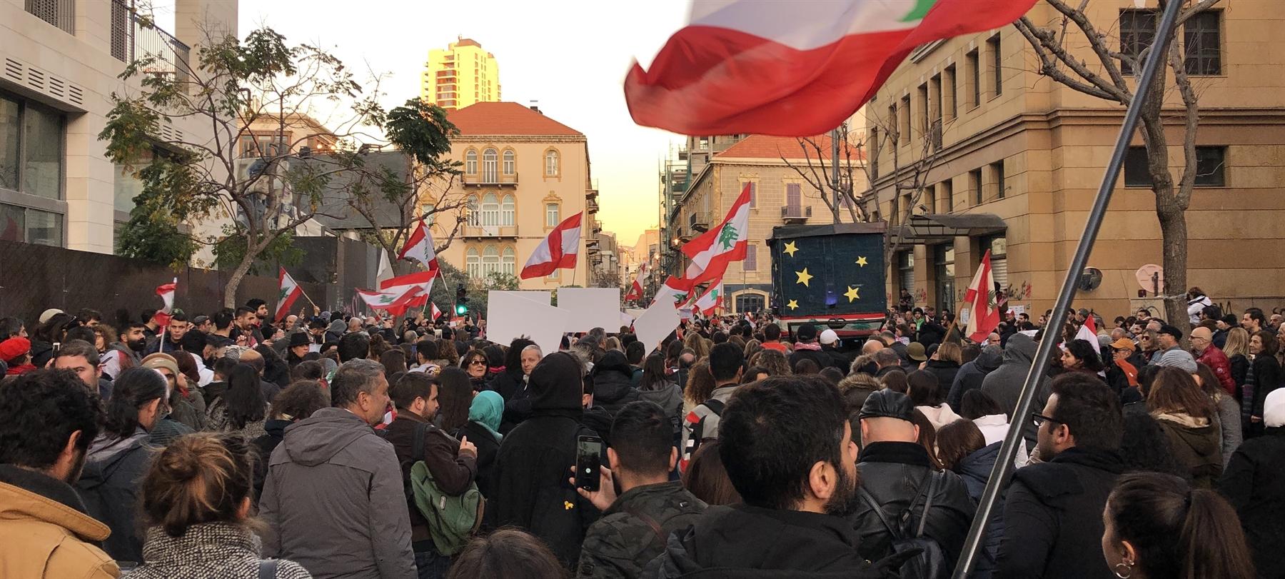 المناصرة والتعبئة منذ العام 2011: لبنان