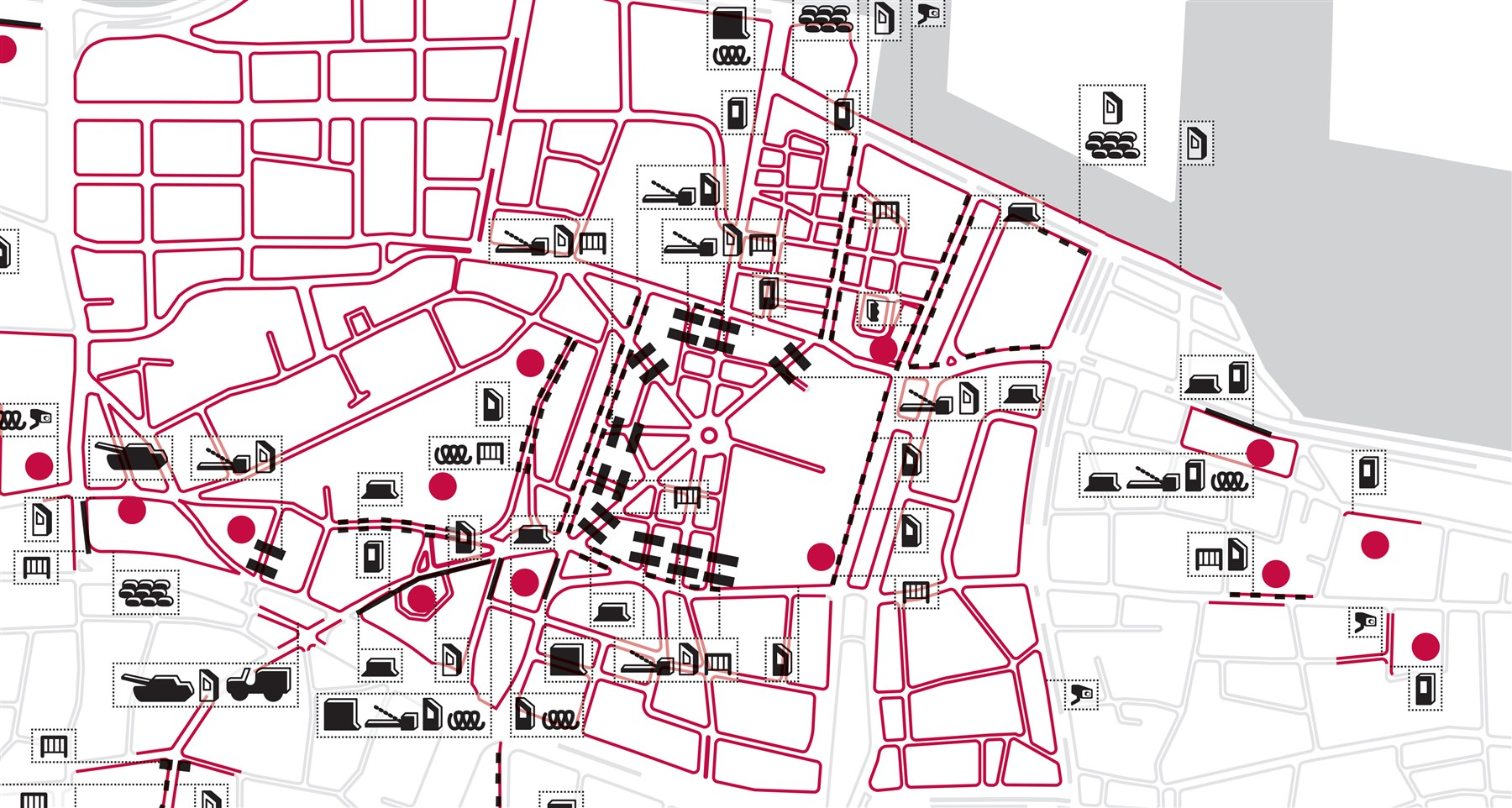 Mapping Security in Beirut: A Decade of Research