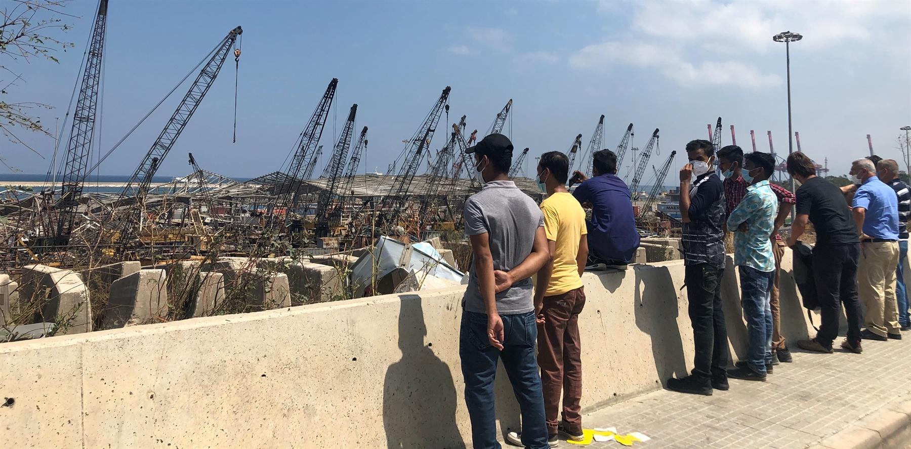 أسبوع على انفجار بيروت