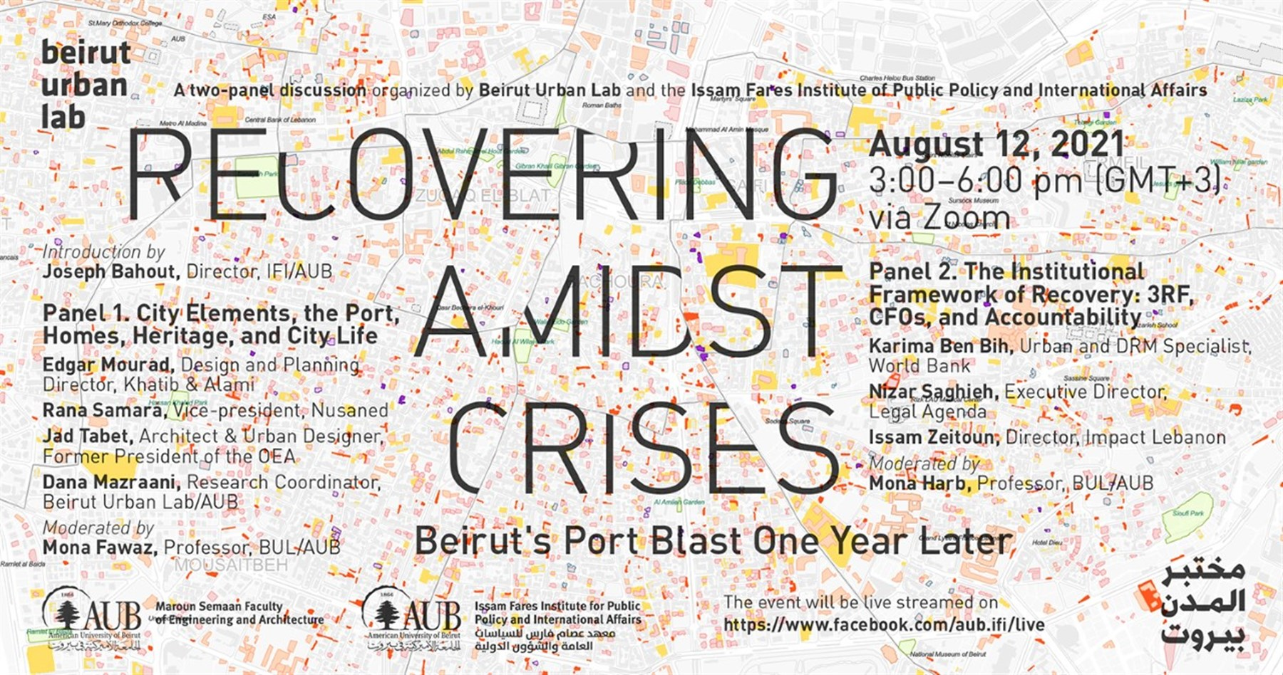 Recovering Amidst Crises, Beirut's Port Blast One Year Later