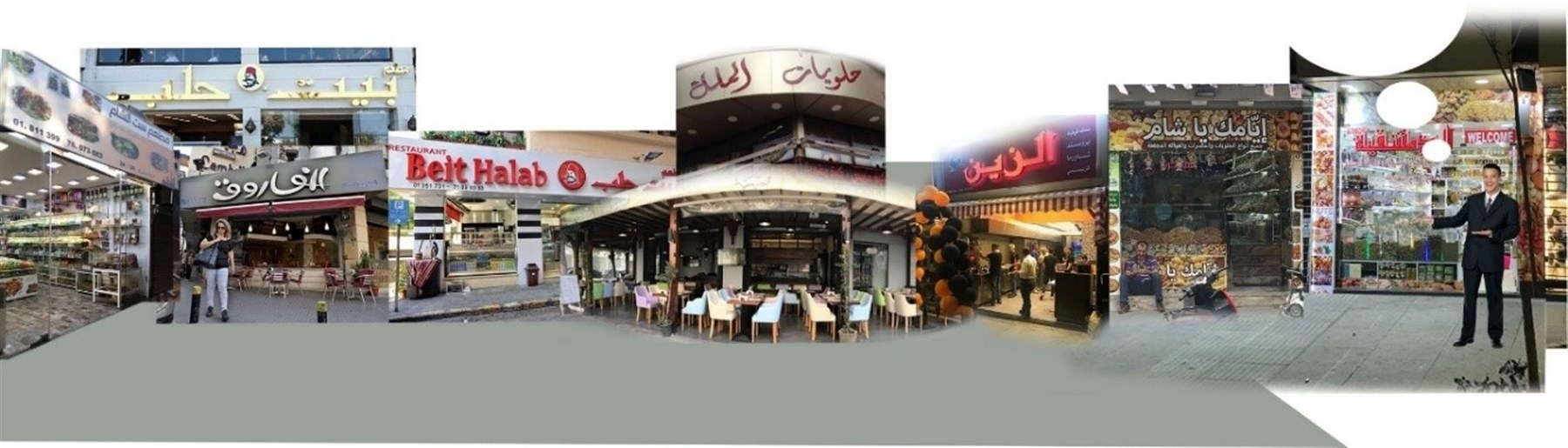 Syrian-Owned Businesses in the City