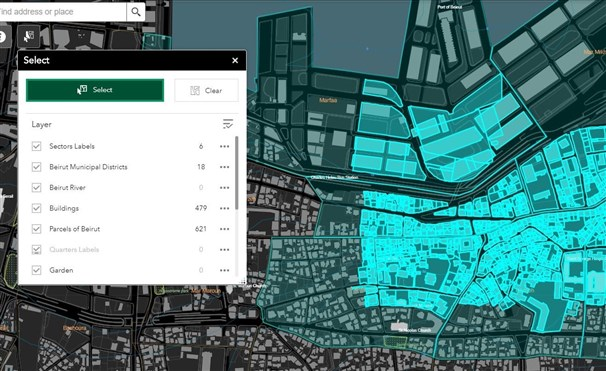 Municipal Beirut Basemap Available for Download!