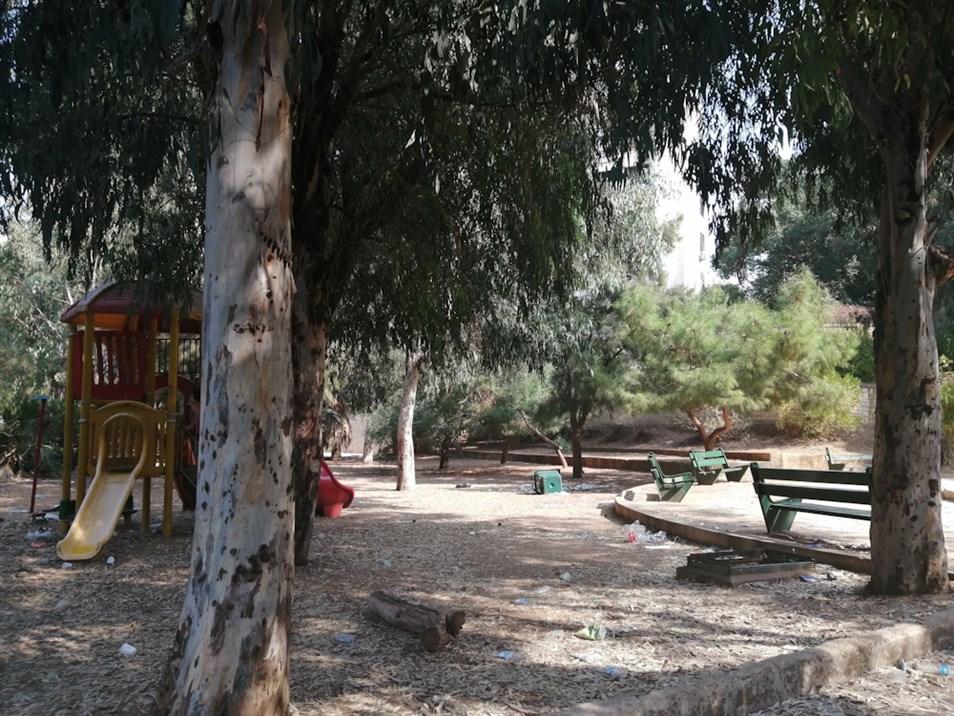 Hawd El Wilaye Public Garden in Bachoura. (Source: Lynn Hamdar and Fatima Alleik, November, 2020)