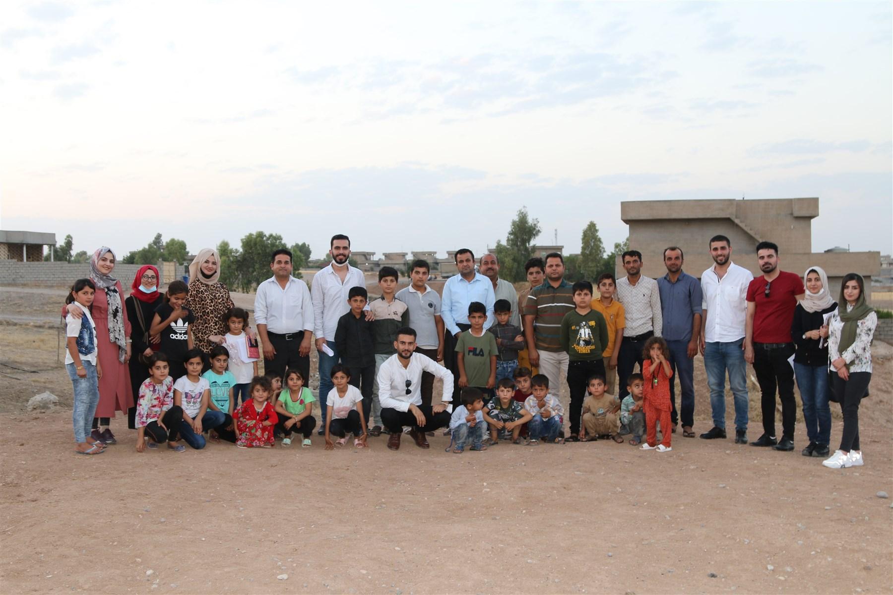 Citizen Scientists, Erbil, Summer 2019